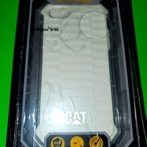 CAT White Case For 5,5s, Rugged Case, msrp 35.00